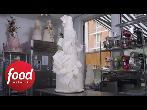 Seven-Foot Wedding Cake | Food Network