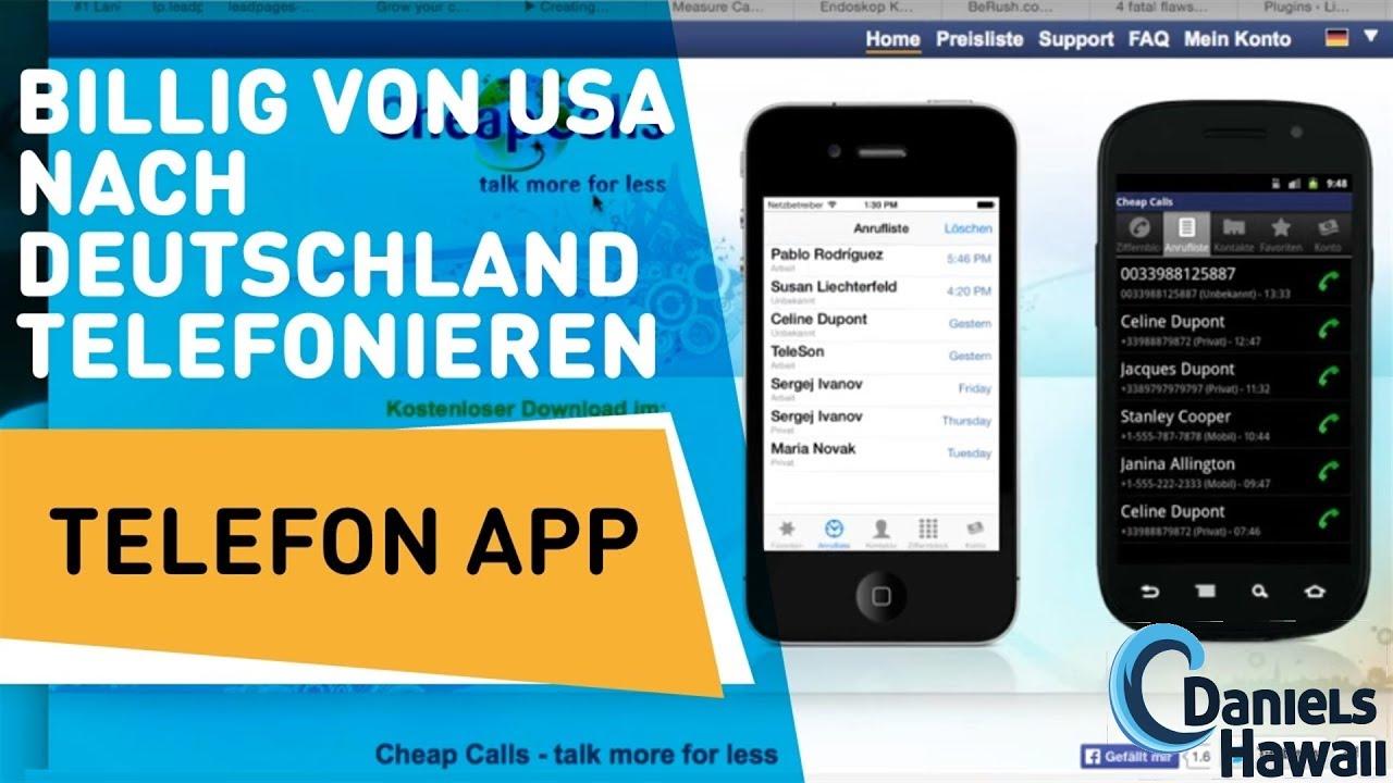 Usa Nach Deutschland Billig Telefonieren Hawaii Deutschland So