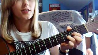 How to play Down (Jay Sean) acoustic easy guitar lesson