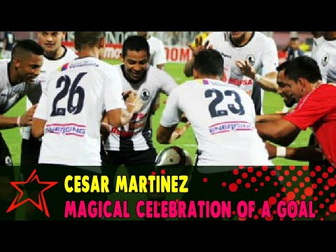 Cesar Martinez ball levitation trick