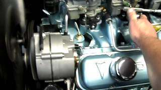 Start idle and rev  389 tri power