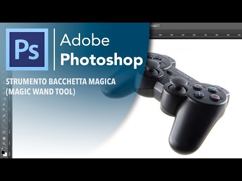 PHOTOSHOP - Strumento Bacchetta Magica