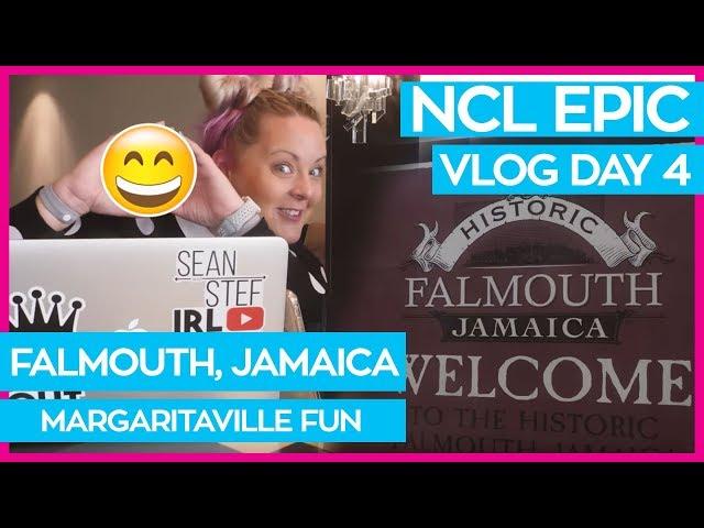 Falmouth Jamaica Margaritaville | Norwegian Epic Cruise Vlog Day 04