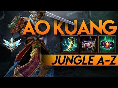 AO KUANG   A-Z JUNGLE SERIES   QUICK LEVEL 20   Grandmasters Smite Season 6