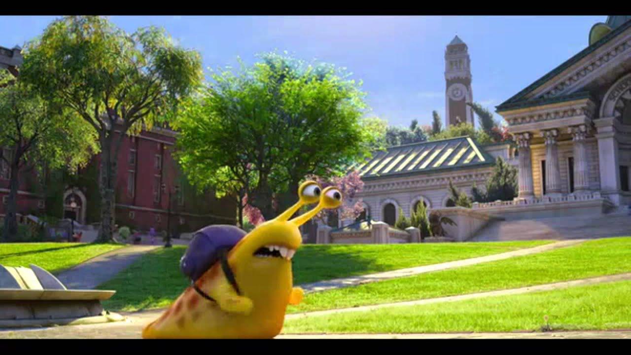 Monsters University Running Snail Youtube