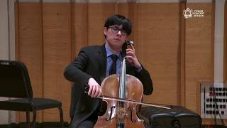 Live: Cellist Zlatomir Fung debuts on the Young Concert Artists Series