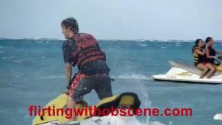 Nick Carter on a jet ski @ the Backstreet Boys 2011 Cruise Beach Party