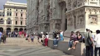 Миланский собор Дуомо (Duomo di Milano) made by trip-point.ru(Миланский Дуомо строился ни много ни мало, а 579 лет. Первый камень в основание собора, представляющего сегод..., 2013-12-02T19:06:21.000Z)