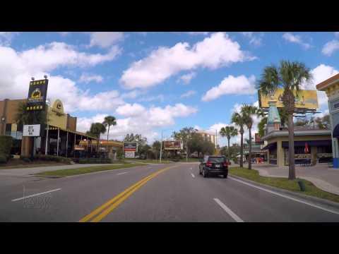 Driving Down International Drive In Orlando Florida To The Universal Orlando Resort 2015