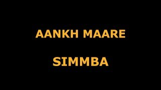 Aankh Maare | Simmba | Dance Choreography | Ranvir Singh | Sara Ali Khan | Team  L V D