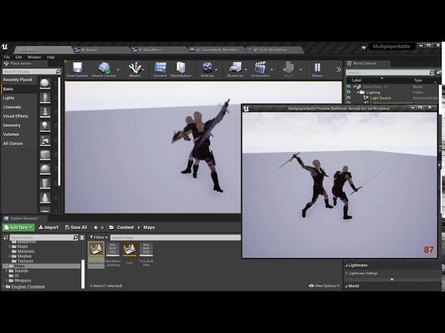 Реализация механизма сессий | Создание мультиплеерной игры на Unreal Engine 4 - #11