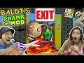 BALDIS BASICS NO EXIT ESCAPE + PRANK & MOD! FGTEEV RAGE Teacher Ending! (Education & Learning #2)