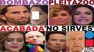 TANIA RINCON PONCHO DE NIGRIS PENELOPE MENCHACA GUSTAVO ADOLFO INFANTE CARMEN MUÑOZ AMLO TV AZTECA