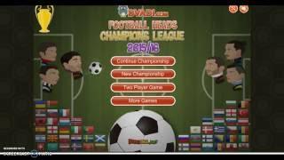 Winning Football Heads Champions League 2016 part2