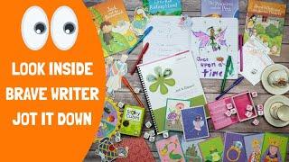 Look Inside Brave Writer Jot it Down