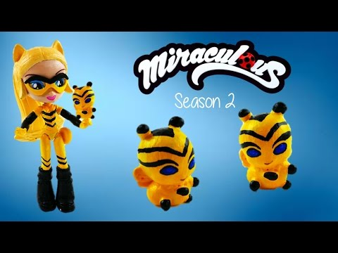 Chloe Queen Bee Kwami POLLEN Miraculous Ladybug Custom Toys