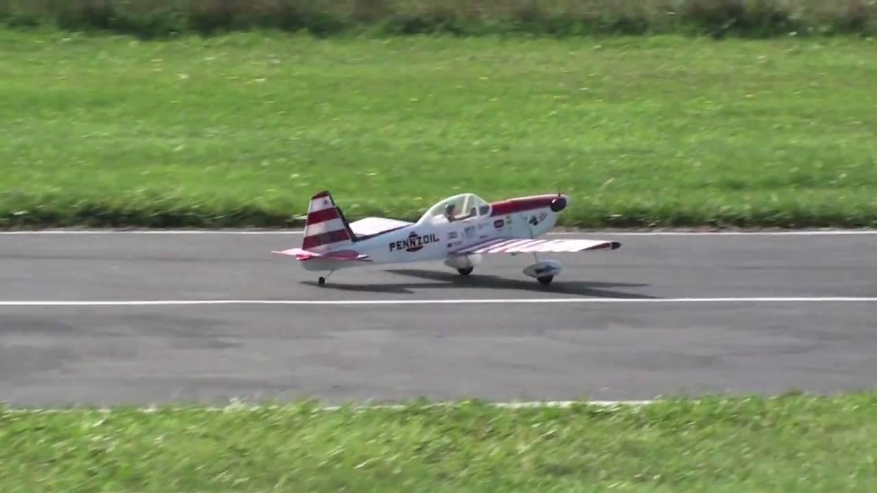 RC Plane Carl Goldberg Chipmunk 2nd Flight