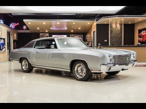 1970 Chevrolet Monte Carlo For Sale Youtube