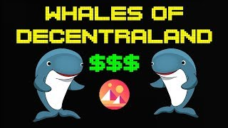 Whales of Decentraland | How much are Their Land Portfolio's worth?