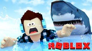 Roblox-GIANT SHARK!