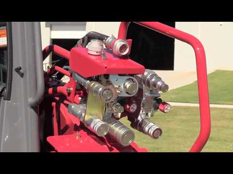 Takeuchi TL12R2 Auxiliary Hydraulics Feature - YouTube