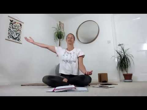 Pregnancy Yoga :  Slow Down & Relax
