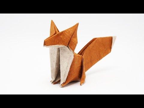 Origami Fox-Jo Nakashima