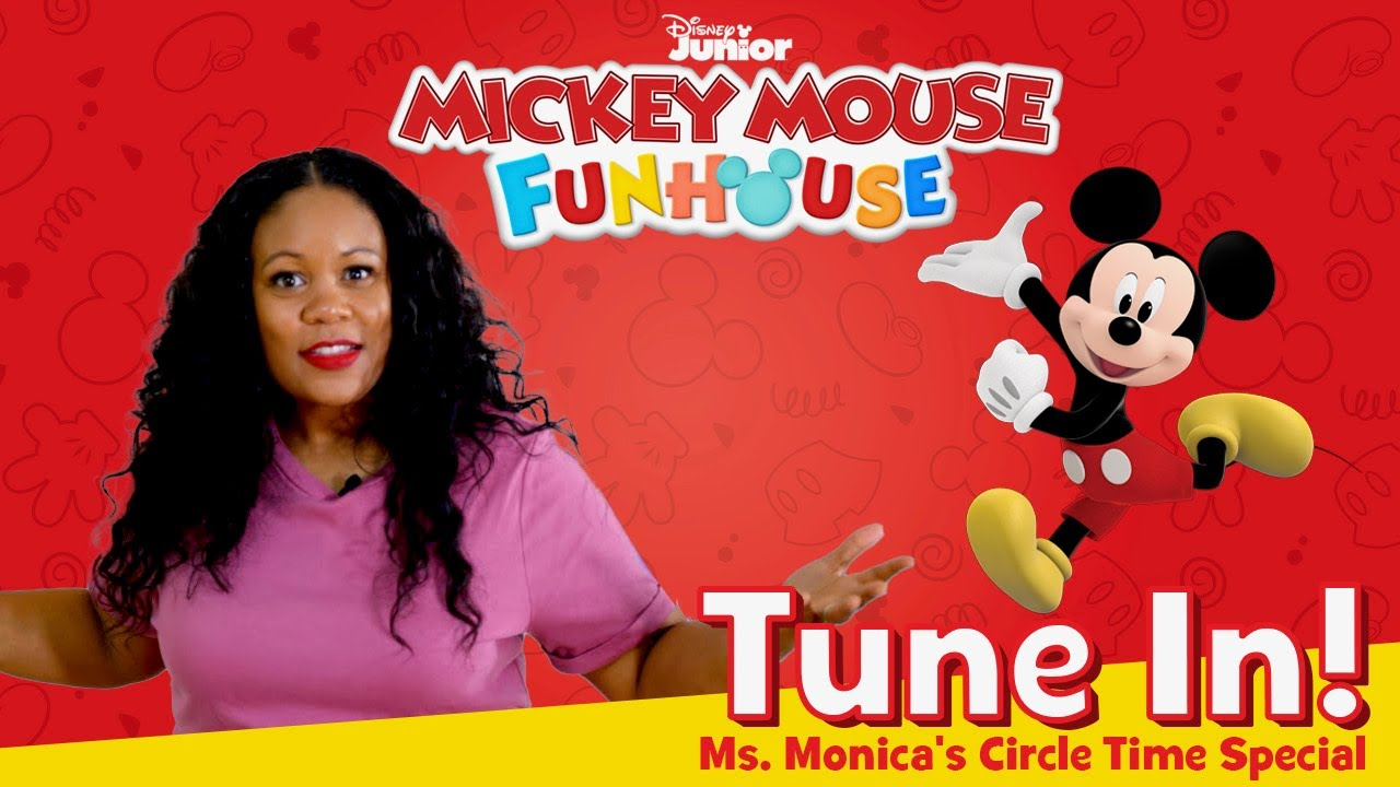 """Preschool Circle Time – Circle Time with Ms. Monica – """"Mickey Mouse Funhouse"""""""