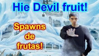 Congelandolo todo con la devil fruit de hielo! | Roblox: One Piece Treasure