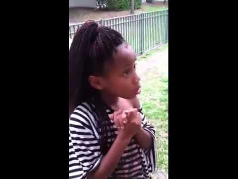 smart mouth little girl