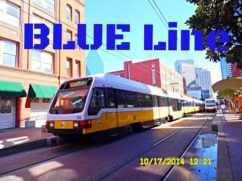 🚊/💺 Dallas DART: BLUE Line (SUPER Light Rail) to Rowlett...