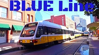 "Dallas DART: ""SUPER Light Rail"" - BLUE Line to Rowlett..."