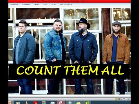 JJ Weeks Band - Count Them All (Lyrics)