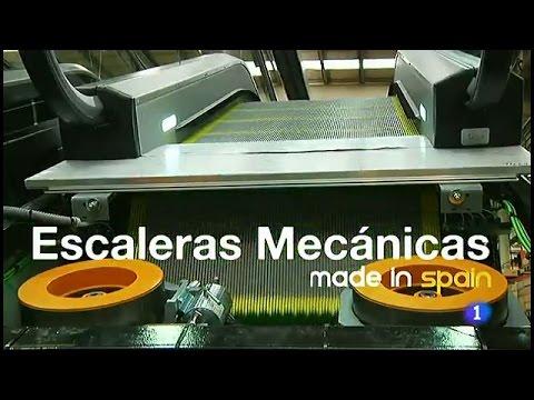 136-Fabricando Made in Spain - Escaleras mecánicas