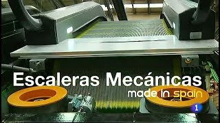 136-Fabricando Made in Spain - Escaleras mecánicas