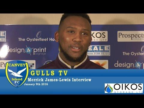 Merrick James-Lewis Interview - 09 January 2016