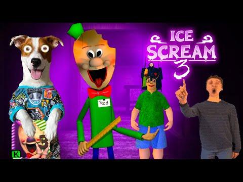 🔴Мороженщик это Балди🍦 Ice Scream Episode 3