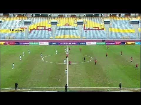 ملخص مباراة المصري vs طلائع الجيش, الدوري المصري الاسبوع 21