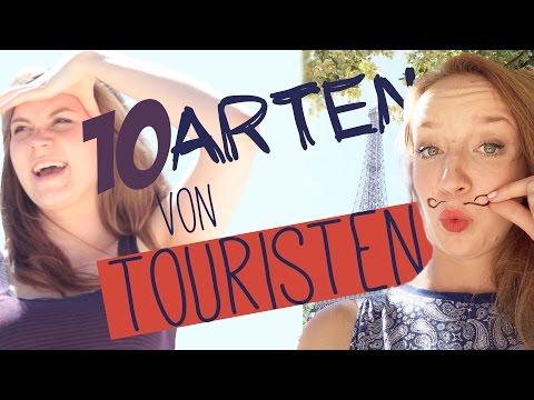 10 Arten von Touristen - in Paris - mit GarNichz - Travelponk Challenge
