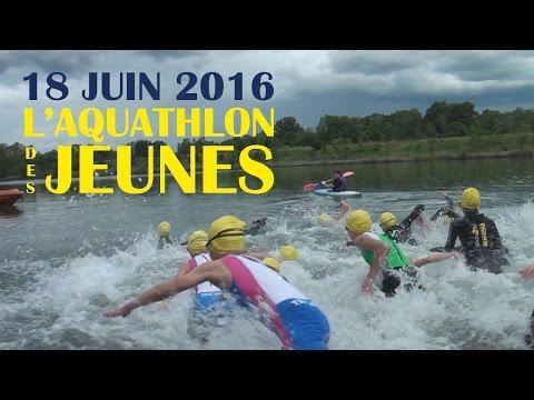 Aquathlon des jeunes