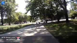 MTB Street view #32 - Belgrade, Serbia - Bulevar and The Eastern Gate