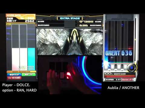 Aublia (A) MAX-28 PERFECT / played by DOLCE. / beatmania IIDX23 copula [手元付き]