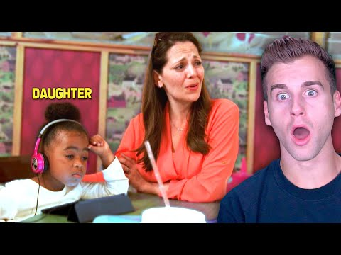Mom With Different Race Daughter Sees How People React! (SOCIAL EXPERIMENT)