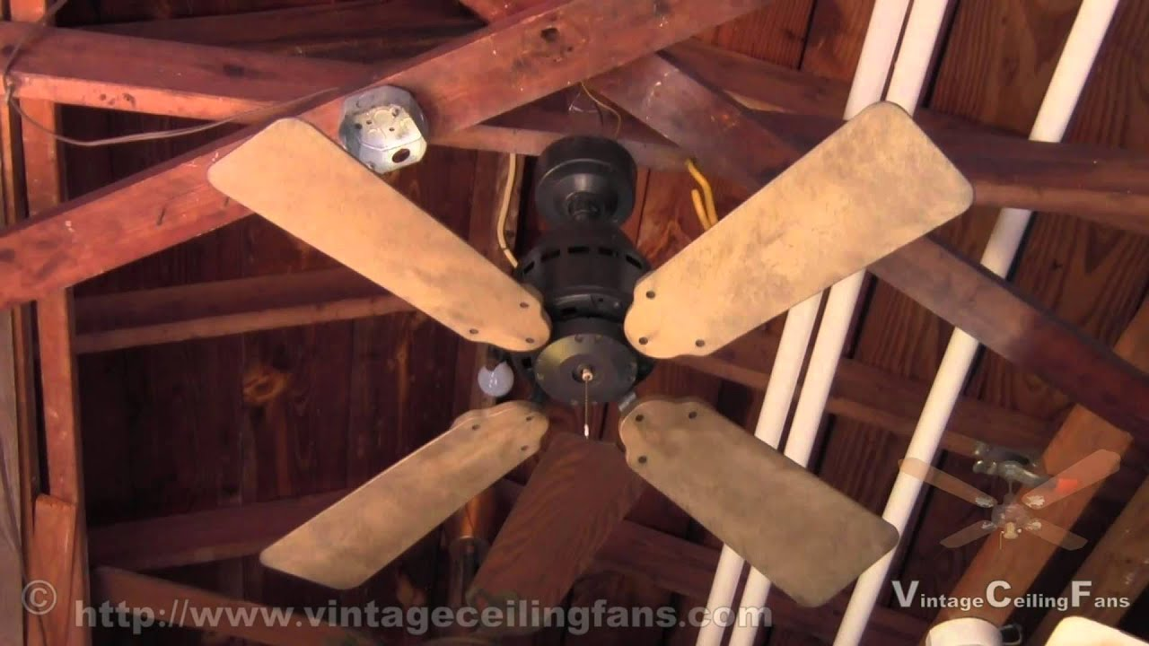 Sears Ceiling Fan Model No 292 After Touch Up