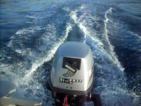 Mariner5 HP 4 Stroke Outboard Engine Performance Test