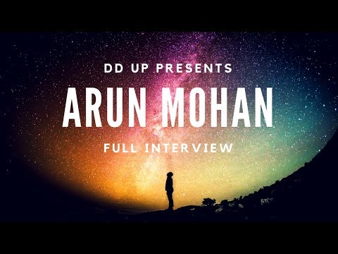 Arun Mohan Exclusive Interview - DD Uttar Pradesh