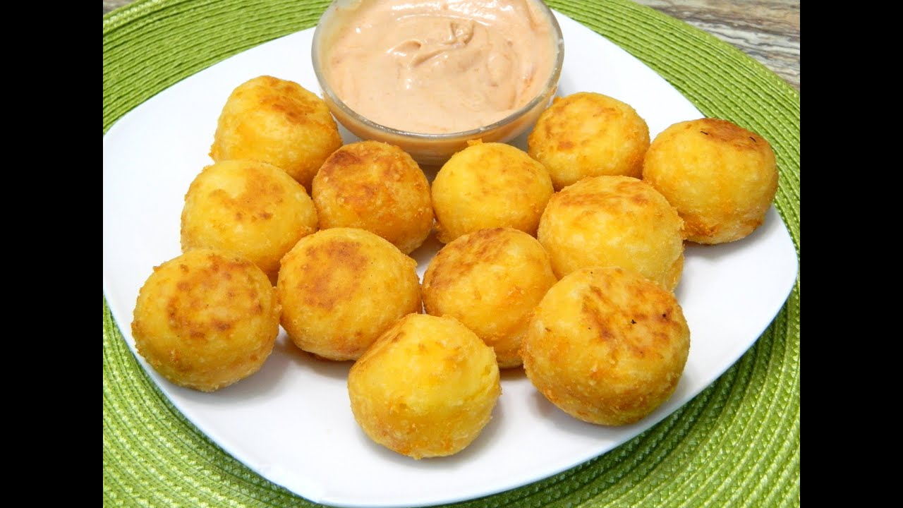 Bolitas de yuca y queso fried yucca and cheese balls youtube for About caribbean cuisine