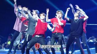 [kcon18ny] 180624 nct 127 (엔씨티 127) - cut **whiplash & firetruck ot9** @ kcon ny: prudential center 0:00 special stage (whiplash: taeyong, jaehyun, m...