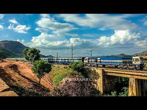 10km Walk, Timelapse of Trains & Amazing Clouds - Indian Railways