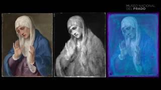 Restauración: La Dolorosa con las manos abiertas de Tiziano